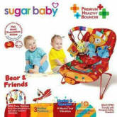 Sugar Baby Bouncer Recline Bear and Friends
