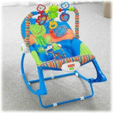 Bouncer Fisher Price Infant to Toddler Blue