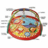 Techno Baby Colorful Animal Playmat