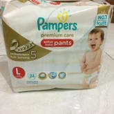Pampers Baby Premium Size L
