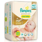 Pampers premium care new baby isi 28