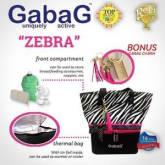 Gabag Zebra Bow