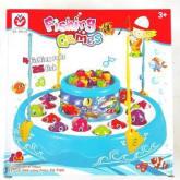 Fishing Games tingkat, mainan mancing 26 ikan untuk 4 pemain 685-22
