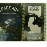 Paket Space 4D Card dan Vehicle 4D card