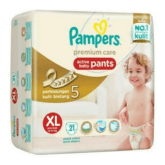 Pampers Premium Care Active Baby Pants XL 21