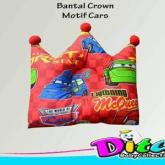 Motif Cars Bantal Bayi Bantal Crown Bantal Peyang Lucu Harga Promo