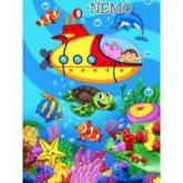 Selimut Sutra Bayi Nemo 100x140 Kualitas Nomer Wahid