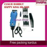 Mesin Alat Cukur Potong Pangkas Rambut Happy King Barber Hair Clipper - Biru