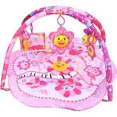 Playmat Pink Flower Musical Party