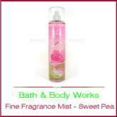 Bath & Body Works Fine Fragrance Mist - Sweet Pea