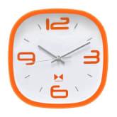 quartz Inno Foto Jam Dinding YM-7851A 23x23 cm - Orange