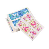 OBN Pretty 50 Pcs Sheets Flower Nail Art Stickers 40g - Multi Colour