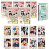 Fujifilm Instax Mini Little Twin Star Instant 50 Film for Fuji 7s 8 25 50s 70 90 / Polaroid 300 Instant Camera / Share SP-1 Printer