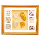 Oem OEM EN71 Baby Hand and Foot Mold with Photo Frames - Gold