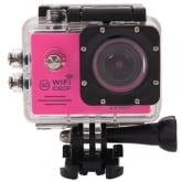 Sunsky SUNSKY SJ7000 Full HD 1080P 2.0 inch LCD Screen Novatek 96655 WiFi Sports Camcorder Camera with Waterproof Case, 170 Degrees HD Wide-angle Lens, 30m Waterproof (Magenta)