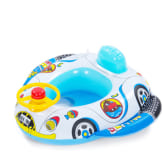 Thinch thinch Children Kids Babies Inflatable Pool Swim Ring Seat Float Boat Car Wheel Horn Style