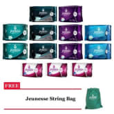 Jeunesse Anion Heavy Red Days Set with FREE String Bag