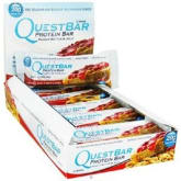 Lushprotein LushProtein Quest Bars Peanut Butter and Jelly 12 bars