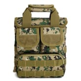 outdoor spike multifunction tactical bag sports bag men and women outdoor camouflage bag sports bag shoulder bag portable digital packet jungle - Intl