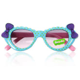 Oem Cute Child Boys Girls Kids Style Sunglasses Glass Polka Dot Goggles Bow Eyewear (EXPORT) - Intl