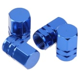 Possbay Gold Wheel Tyre Tire Valve Stems Air Dust-proof Cover Screw Caps Car Bike 4pcs (EXPORT) - Intl
