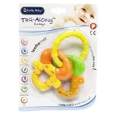 Lucky Baby ® 606629 Tag-Along™ Funkeys Teether - Round Key Soft (...)