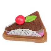 HKS Household Sandwich Shape Cake Ornament Towel Present (Multicolor)