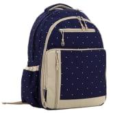 Win8fong Win8Fong Polka Dots Backpack Dark Blue