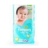 Pampers Sg PAMPERS SG Pampers Baby Dry Diapers M (6-11kg) 52pcs