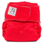 Moo Moo Kow MooMooKow Cloth Diaper Aplix Red