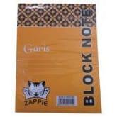 ZAPPIE - 10 BLOCK NOTE GARIS HVS 1/2 FOLIO ISI 40 LBR -