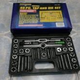 Tap and die set 40pc/tap snai set