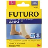 3m 3M Futuro Spiral Lift Comfort Ankle Support – Large