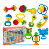 Baby Toy Puzzle Educational Rattle Teether