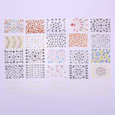 30pcs Colorful 3D Flower Nail Art Stickers Flower Manicure Tips Decals - Intl(Export)(Intl)