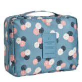Cosmetic admission package travel wash bag cl55b-blue (Export) - Intl