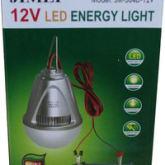 Lampu LED 12 Volt DC Merk JIMEI 7 watt ( Bisa ke aki tanpa perlu inv