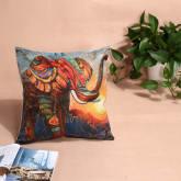 Vakind VAKIND Cotton Linen Home Decor Pillow Case Elephant