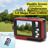 Xcsource XCSource 24MP Double Screen Underwater Digital Video Camera HD 1080P 3m Waterproof LF747