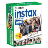 Fujifilm Instax Wide White Edge Instant 20 Film for Fuji Wide 210, 300 Instant Camera