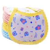Buytra Baby Bib Cartoon Cotton Newborn Gifts 3pcs (Yellow)
