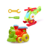 Children Educational Toys Assemble Disassemble Toy with Disassembling Tool Christmas Gifts (Pack of 2)