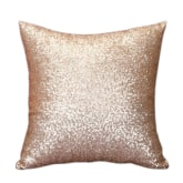 Blue Lans Blue lans Bluelans Sequins Pillow Case Pure Color Sofa Throw Cushion Cover Home Decor Champagne