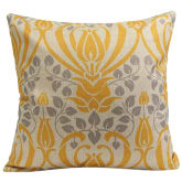 Blue Lans Blue lans Bluelans Vintage Flower Cotton Linen Throw Pillow Case Cushion Cover Home Decor Yellow