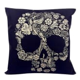 Blue Lans Blue lans Bluelans Fashion Throw Pillow Cover Pillowcase Cushion Cases Skull Sofa Car Seat Decor