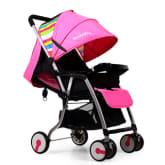 Seebaby QQ3 Aluminum Lightweight Stroller (Pink)