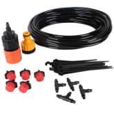 Oem OEM 10m Hose Micro Irrigation Drip System (Black)