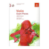 Abrsm ABRSM Grade 3 Violin Exam Pieces with CD