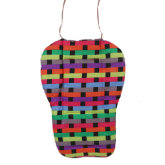 S & F Oxford Cotton Baby Stroller Cushion Pushchair Seat Pad Colorful Grid