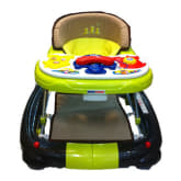 Babydoes Baby Does Baby Walker 2 in 1 CH77 - Hijau Coklat